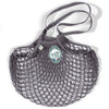 Filt French String Net Tote Market Bag Classic Dark Grey Long Handled