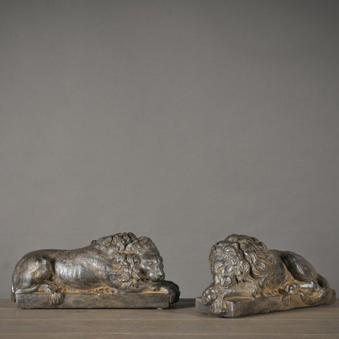 Pair of Lions by Antonio Canova