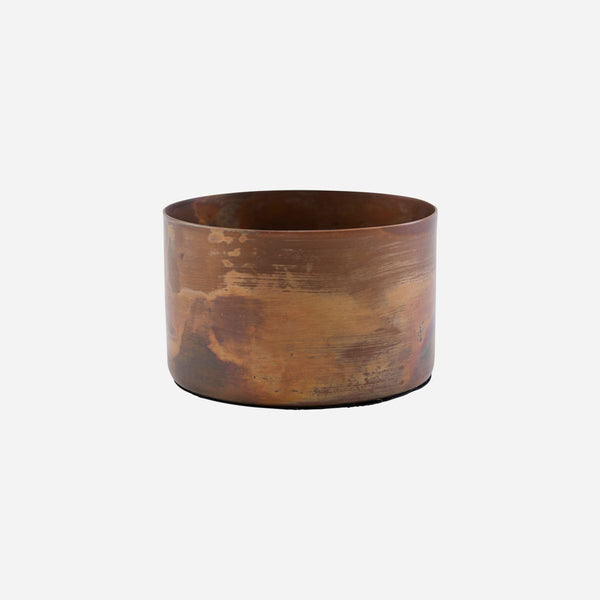 Antique Copper Tealight Holder House Doctor