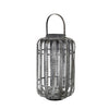 Grey Bamboo Lantern - Dinas - Broste Copenhagen - Two Sizes - Greige - Home & Garden - Chiswick, London W4