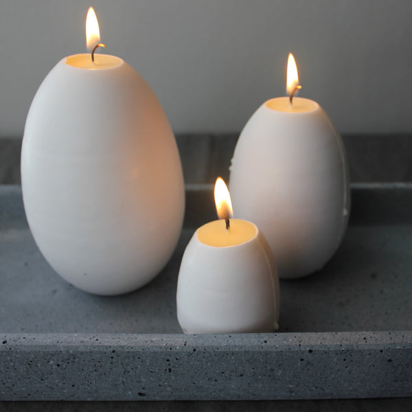Quirky Egg Candles