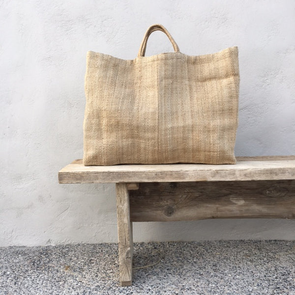 Extra Large Natural Jute Bag