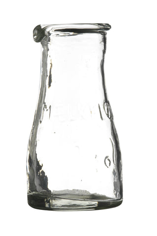 Glass Milk Bottles Jugs