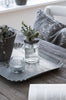 Glass with Metal Lid Hanging Tealight Holder - Greige - Home & Garden - Chiswick, London W4