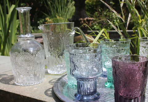 Handmade Wine or Water Goblets - Greige - Home & Garden - Chiswick, London W4