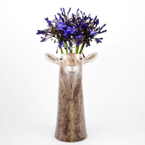 Large Goat Vase by Quail Ceramics - Greige - Home & Garden - Chiswick, London W4