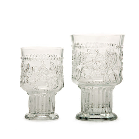 Handmade Wine or Water Goblets - Small - Greige - Home & Garden - Chiswick, London W4