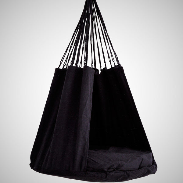 Cotton Cocoon Swing by Madam Stoltz - Greige - Home & Garden - Chiswick, London W4