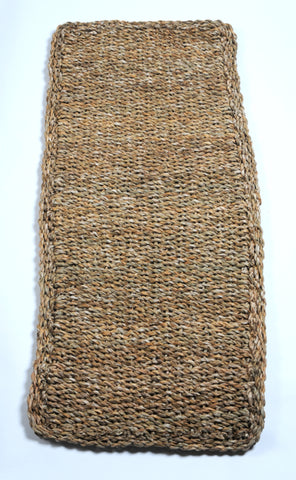 Small Hogla Mat Seagrass handwoven in Bangladesh