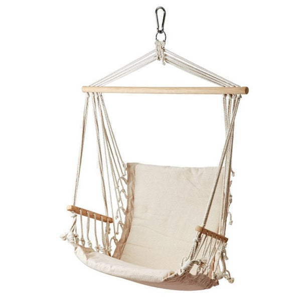 Cotton Swing Chair - Greige - Home & Garden - Chiswick, London W4