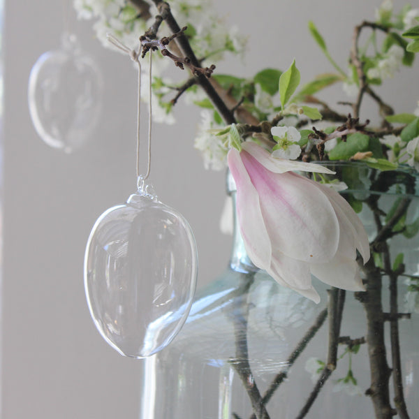 Hanging Glass Egg