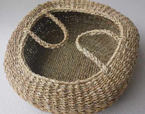 Hogla Seagrass Egg Basket