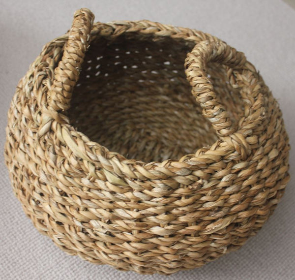 Small Seagrass Hogla Egg Basket