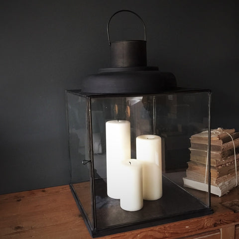 outdoor candle lighting. simple lighting large antiqued metal marseille lantern for outdoor candle lighting s