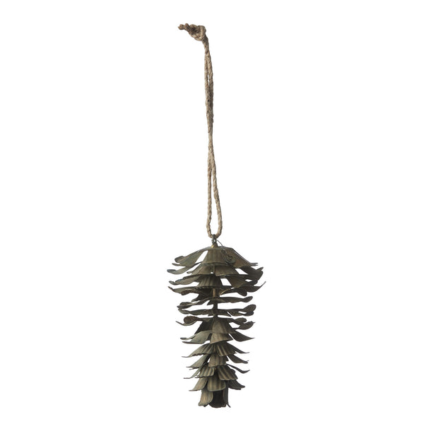 Antique Bronze Pinecone Decoration - Greige - Home & Garden - Chiswick, London W4