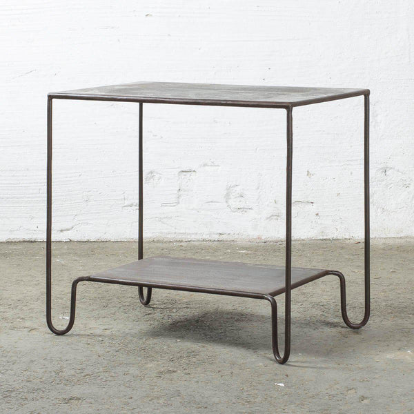 Iron Side Table or Small Sideboard - Greige - Home & Garden - Chiswick, London W4