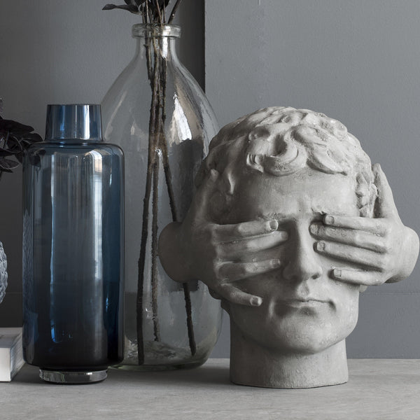 Grey Faux Concrete Guess Who Figurine - Greige - Home & Garden - Chiswick, London W4