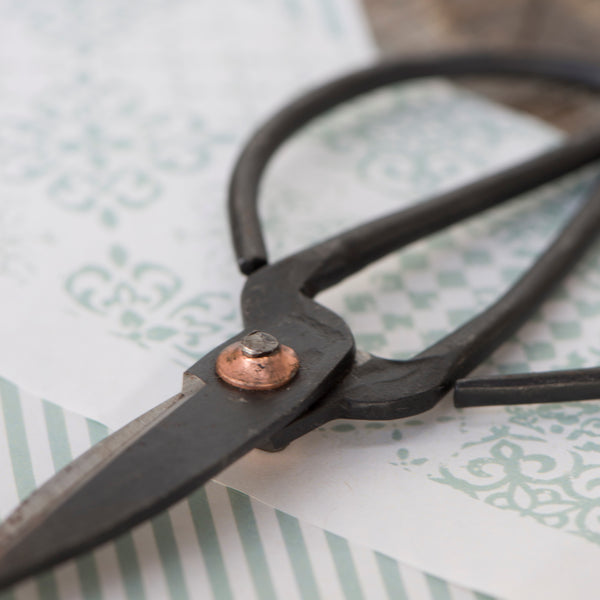 Traditional Black Iron Scissors - Small - Greige - Home & Garden - Chiswick, London W4