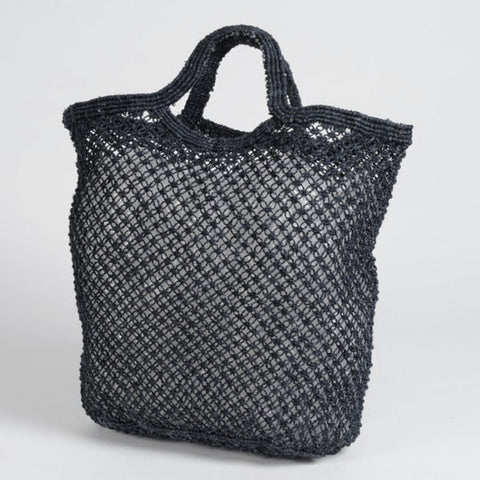 Large Jute Macrame Shopping Bag - Various Colours