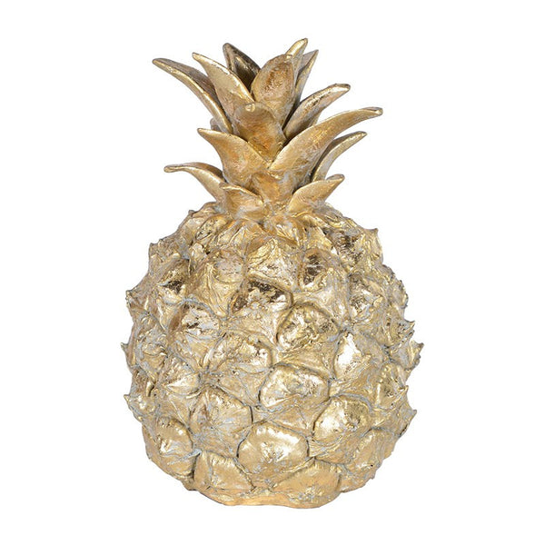 Decorative Golden Pineapple - Greige - Home & Garden - Chiswick, London W4