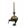 Antique Brass Kiwi Bird Candle Holder Vanilla Fly Denmark