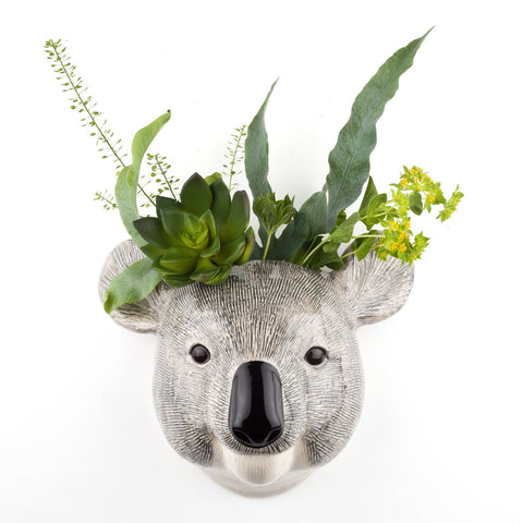 Koala Wall Vase Small by Quail Ceramics