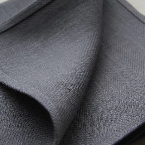 100% Linen Napkins - Natural, Cream or Graphite - Greige - Home & Garden - Chiswick, London W4