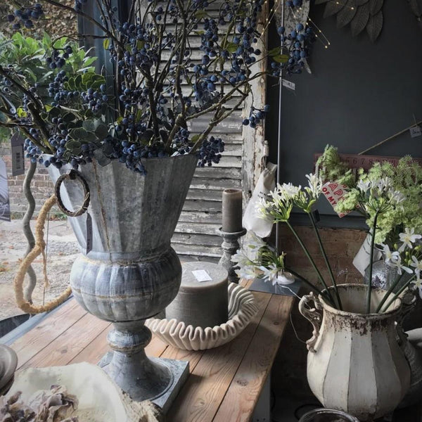 Large Decorative Urn - Greige - Home & Garden - Chiswick, London W4
