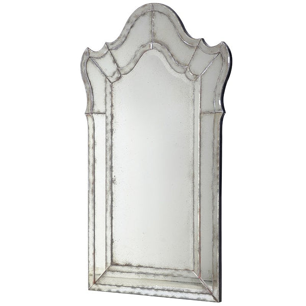 Large Venetian Antiqued Mirror - Greige - Home & Garden - Chiswick, London W4