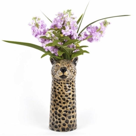 Large Leopard Flower Vase by Quail Ceramics - Greige - Home & Garden - Chiswick, London W4