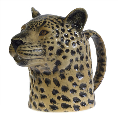 Leopard Jug by Quail Ceramics - Three Sizes - Greige - Home & Garden - Chiswick, London W4