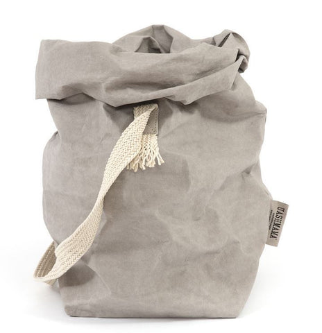 Paper Carry Bag with Shoulder Strap - Greige - Home & Garden - Chiswick, London W4