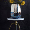 Antiqued Brass and Marble Display Pedestal - Three Sizes - Greige - Home & Garden - Chiswick, London W4