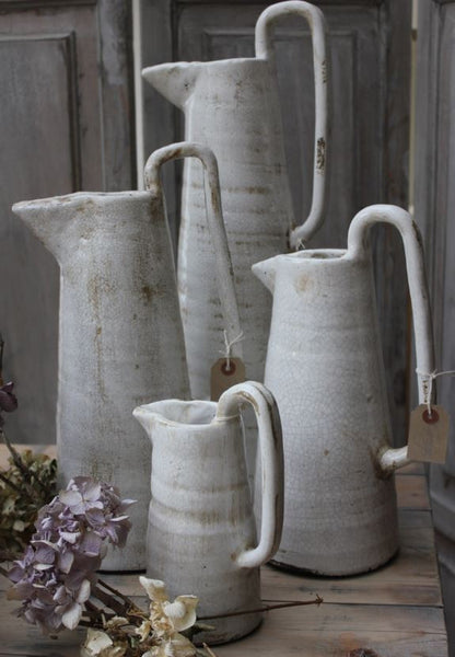 Tall Long Handled Jugs