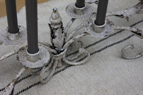 long eight arm table candelabra