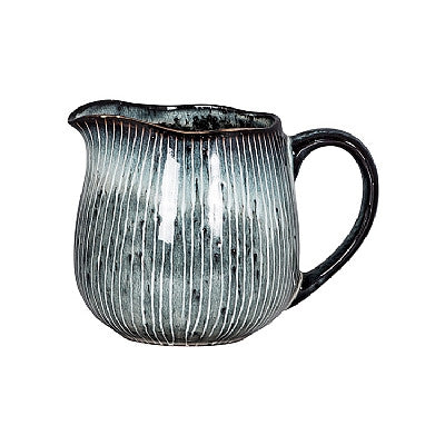 Nordic Sea Ceramic Milk or Cream Jug by Broste Copenhagen - Greige - Home & Garden - Chiswick, London W4