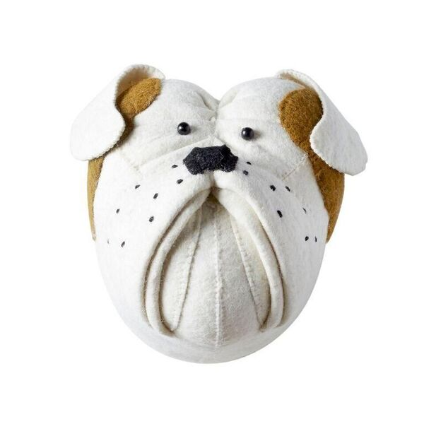 Mini Bulldog Felt Wall Art Fiona Walker