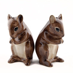 Ceramic Mouse Salt & Pepper Set Quail Ceramics