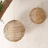 Giant Brass Wire Opening Bauble - Two Sizes - Greige - Home & Garden - Chiswick, London W4