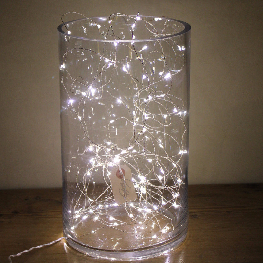 String Lights Vase : Naked Wire Fairy Lights - 5, 10, 15 or 20 meter