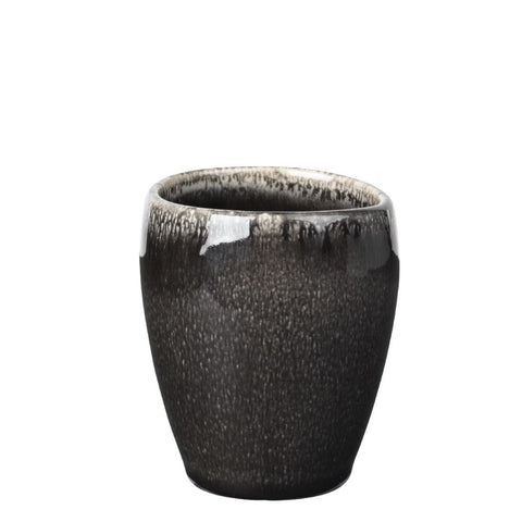 Nordic Coal Ceramic Mugs (Beakers) by Broste Copenhagen