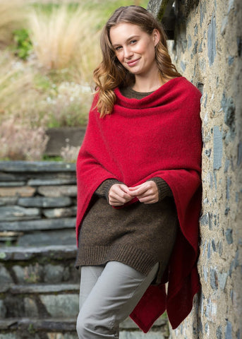 Noble Wilde North Cape Poncho - Greige - Home & Garden - Chiswick, London W4