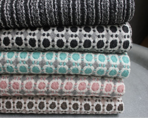 Woolen throws from Lapuan Kankurit Finland