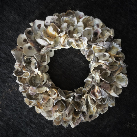 oyster shell wreath