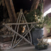 Antiqued Zinc Dolly Planters - Two Sizes