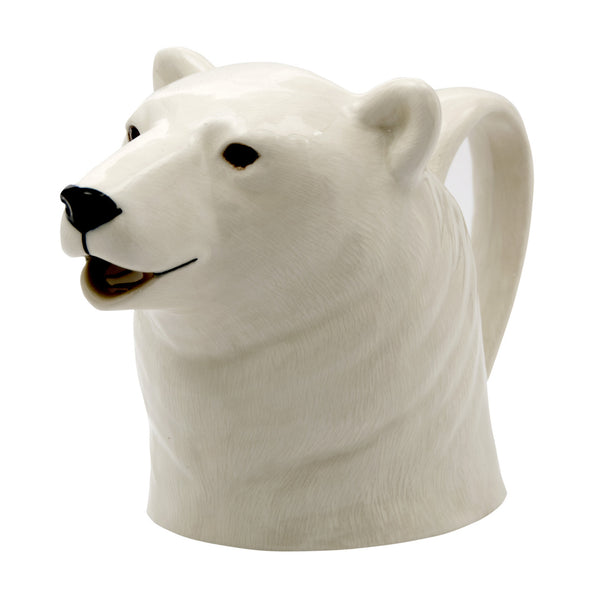 Polar Bear Jug by Quail Ceramics - Three Sizes - Greige - Home & Garden - Chiswick, London W4