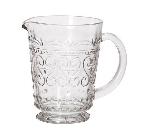 Vintage Inspired Pressed Glass Pitcher