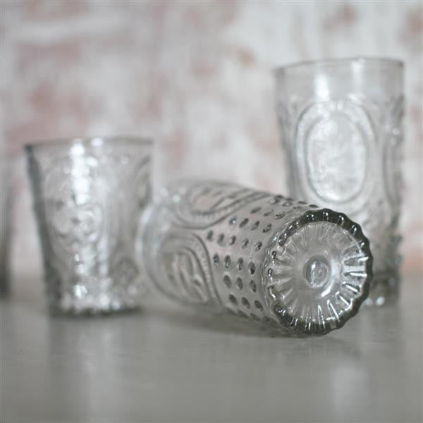 Handmade Drinking Glasses Recycled Glass Two Sizes