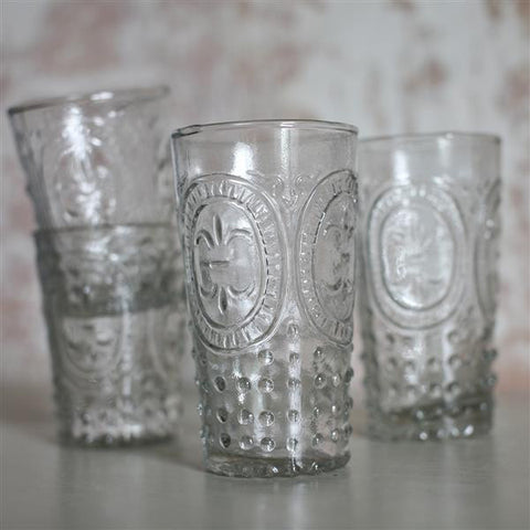 handmade drinking glass large or small
