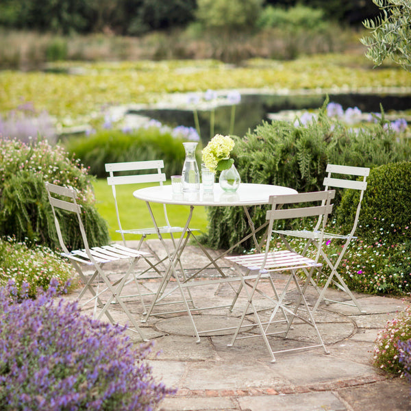 Garden Bistro Set - Large - Various Colours - Greige - Home & Garden - Chiswick, London W4